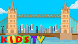 London Bridge Is Falling Down - Nursery Rhyme For Kids - Video For Toddlers