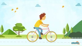 How Does A Bicycle Stay Upright? Curious Questions With Answers - Educational Videos