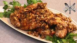Baklava Chicken Wings - Sweet And Crunchy Chicken Wings