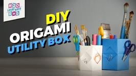 DIY Origami Utility Box