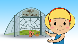 House of Vegetables  Learn about the Vegetables  Children Learning Songs and Original Songs for Kids