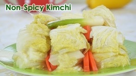 Non Spicy Vegan Korean Kimchi