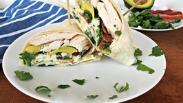 Lunch Recipe-Chicken Ranch Wrap