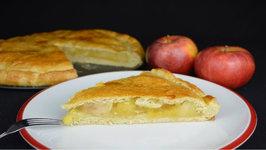 Empanada rellena de manzana con receta de la masa paso a paso