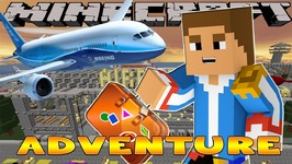 Minecraft - Little Donny Adventures - VACATION w/ DONUT, GOING TO THE AIRPORT
