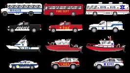 Emergency Vehicles 3 - Rescue Buses & Trucks