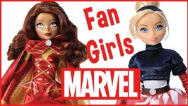 Iron Man and Captain America Fan Girl Dolls by Madame Alexander Doll Review