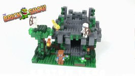 LEGO Minecraft The Jungle Temple REVIEW Set 21132