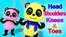 Head Shoulders Knees And Toes - Bao Panda Cartoons For Children