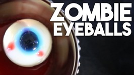Zombie Eyeballs -Halloween Vegan Dessert