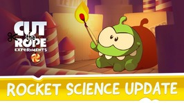 Cut the Rope- Experiments - Rocket Science Update