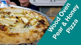 Pear Mascarpone Walnuts Gorgonzola Honey Wood Fired Pizza