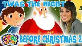 Twas the Night Before Christmas - ?Chapter 2 - ?Story Time with Ms. Booksy - Cartoons for Kids