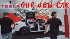 Our New Car Tesla Model X 100D Delivery Day