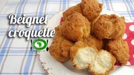Recette Beignet Croquette