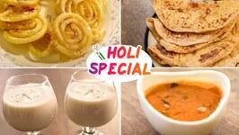 Puran Poli / Kat Amti / Sweets / Holi Snack Recipes
