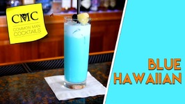 How To Make The Blue Hawaiian Cocktail -Bartending 101