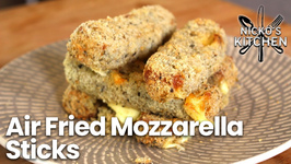 Air Fried Mozzarella Sticks - Low Carb And Keto Friendly