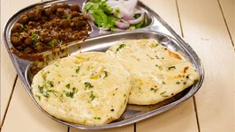 Kulcha - Road Side Chole Kulcha (Bread) - Made in Tawa
