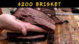 200 BBQ Brisket - Akaushi Brisket On Weber Smokey Mountain