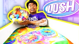EVERY LUSH BATH BOMBS BATH CHALLENGE