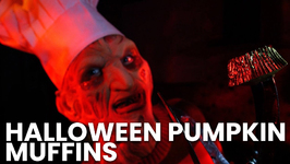 Cooking With Freddy - Halloween Pumpkin Muffins