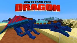 Minecraft - HOW TO TRAIN YOUR DRAGON - Cobalt the Hero Dragon 32
