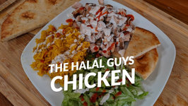 New York's The Halal Guys Chicken Recipe - Street Food