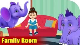 Family Room - Learning Song For Children