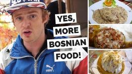 Mostar Food Review - Eating Bosnian Dishes at Šadrvan Restaurant in Mostar, Bosnia and Herzegovina