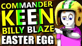 DOOM  Commander Keen/Billy Blaze Easter Egg