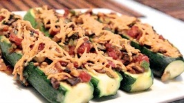 Vegan Zucchini Boats - Rule Of Yum Recipe