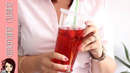 The Glace Fruits Rouges Maison / Iced Tea