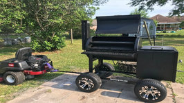 Off Road Upgrade On My Lonestar Grillz Offset Smoker