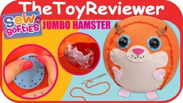 Sew Softies Jumbo Hamster ORB Factory Ball Sewing Kit Craft Unboxing