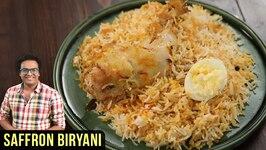 Zafrani Biryani Recipe  How To Make Saffron Chicken Biryani  Biryani Recipe By Varun Inamdar