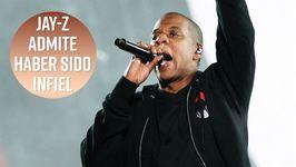 Jay-Z reconoce haber sido infiel a Beyoncé