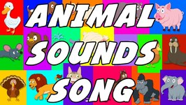 Animal Sound Song - These Are The Sounds That Animals Make - Original Songs For Kids