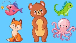Animals for Kids - Learn Animal Names for Toddlers