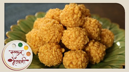 Boondi Ladoo- Soft Motichur Laddu -Recipe by Archana in Marathi -Indian Sweet Dessert