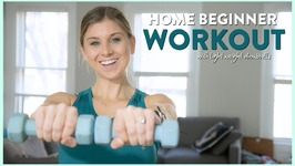 Home Workout For Beginners Plus Size With Weights And Standing Core Work - Workout