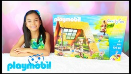Playmobil Family Fun Toys For Kids Summer Camping and Ziplining