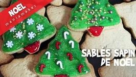 Sablés Sapin De Noël