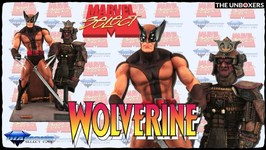 Marvel Select Brown Uniform Wolverine Action Figure by Diamond Select Toys