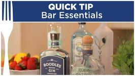 Home Bar Essentials - Quick Tips