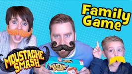 Mustache Smash Game - Kids And Family Game Time - Unboxing And Toy Review