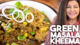 Green Masala Kheema - Instant Pot
