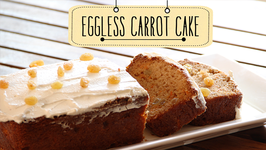 Eggless Carrot Cake  Quick and Easy Dessert Cake Recipe  Beat Batter Bake With Priyanka