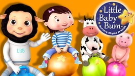 Little Baby Bum - Hopping Song - Nursery Rhymes for Babies - Songs for Kids