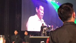 Duterte Sings During ASEAN Gala Event 'Upon the Orders' of Trump